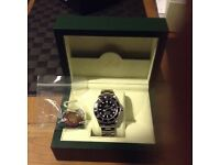 Recently serviced mint condition Rolex Submariner.