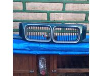 Bmw e36 grills and front panel! Read ad!!