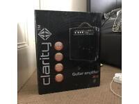 Clarity guitar amplifier