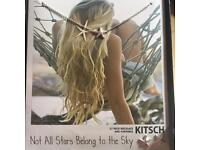 Kitsch Starfish Night Sky Necklace and Earrings Set in Silver