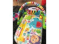 Baby piano mat