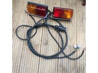 Trailer lights/cable - 12 volt vehicle lights