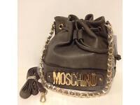 Brand New Women's Grey Moschino Bag