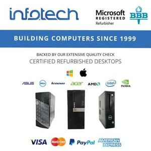 Used Computers from $109.99 - www.infotechcomputers.ca