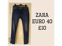 Men's Zara Jens Euro 40. Only worn and washed once - good as new! £10 ono.