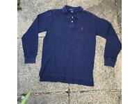 Ralph Lauren long sleeve polo shirt 14-16