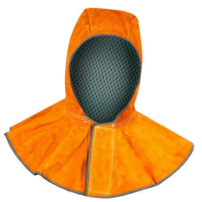Cowhide Leather Welding Hood Welding Protective Hamlet Head Neck Protection
