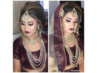 Asian bridal party hair and makeup artist, make up for all occasions.