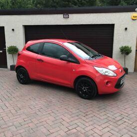 2010 Ford Ka 1.2 Studio, Just 59k MILES! Immaculate, 1Yr MOT, Serviced, FSH, £30 Tax, Fiat 500