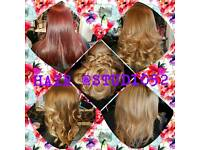Hairdresser and Hair Extention Technician (weaves and weft)