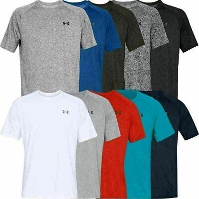 Under Armour 2020 UA HeatGear Tech Short Sleeve Training Gym Sports T-Shirt