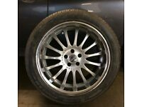 """Ford Kuga 19"""" Aftermarket alloy wheels and tyres"""