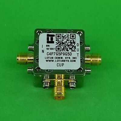 Directional Coupler 4.7 Ghz To 5.9 Ghz 5db 2w Low Insertion Loss