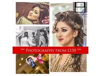 Asian Wedding Photography & Cinematography **£150 Photography**