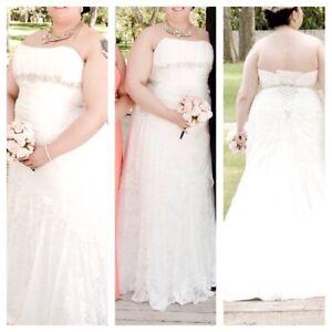 Wedding Dress - Sophia Tolli Y1901A-Felice Size 20~$850 OBO
