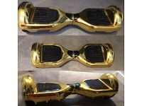 Gold metallic segway