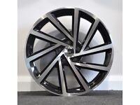 "19"" 2017 Golf R Style Alloy Wheels.Suit Audi A3,VW Caddy,Golf,Jetta, Passat,Seat Leon 5x112"