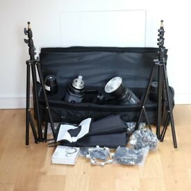 Bowens Esprit Gemini GM500 Full Kit - 2x Heads & Stands - Hardly Used
