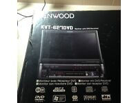 KENWOOD FLIP SCREEN DVD PLAYER