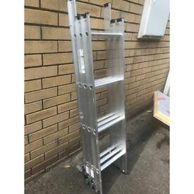 Loft ladders and hitch