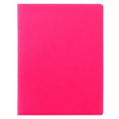 Filofax Saffiano Fluoro Notebook - Bright Pink - A5 - 115075 New 2018 Color
