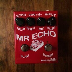 SIB Electronics Mr Echo - Boutique Analog / Digital Delay Guitar Effects Pedal - Mint in Box