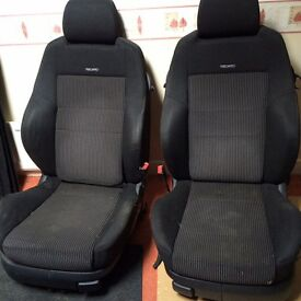 Vw recaro interior golf polo caddy