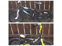 2 kids BMX bikes