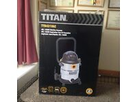 Titan Wet/Dry Vacuum- Brand New