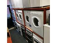 selection of fully factory reconditioned washing machines