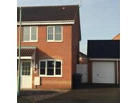 Lovely 2 bed semi detached house in quiet cul de sac on Dunston estate, NR32