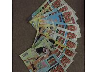 A selection of Dandy and Beano comics from approximately 1994 to 1998. Plus several Annuals