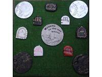 Stone garden ornaments