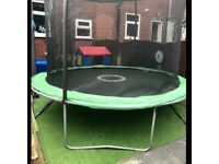 10 ft Trampoline 18 months old