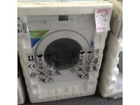 Beko integrated washing machine new in package 12 mths gtee