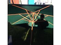 Wind up umbrella/parasol