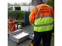 Pothole/tarmac thermal repairs