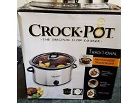 Crockpot Stoneware Slow Cooker for sale