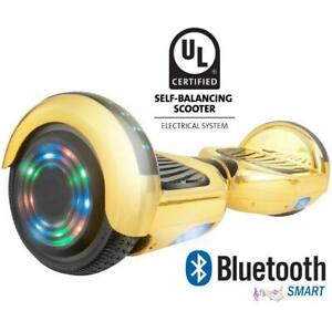 SAFE Hoverboard with 1-year warranty UL227 certified, Bluetooth and no fall technology. Why buy a no name hooverboard!