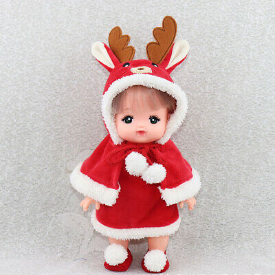 Mini Girl Doll Weihnachts Outfits für MellChan Baby - Weihnachten Outfits Für Babys