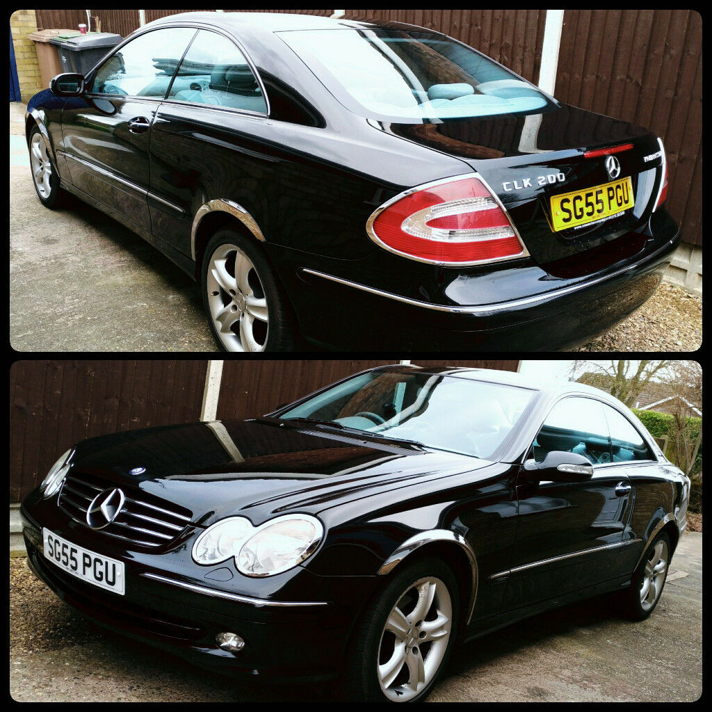 Mercedes-Benz CLK 200 Rare 6 Speed Manual With Only 66k