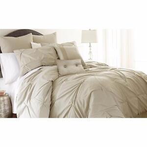 Louis 8 Piece Reversible Comforter Set by Lark Manor QUEEN NEW