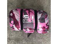 Gelert Sleeping Pod Junior Pink Camo