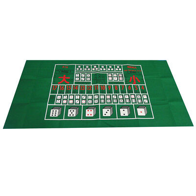 Casino Table Cloth (Poker Table Layout Cover Poker Table Cloth Casino Layout Poker Dice Game New)