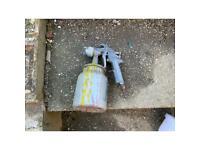 High pressure air spray gun