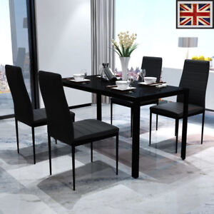 Wooden Glass Dining Table EBay - All glass dining room table