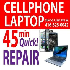 Fix Cell phones, Ipads, Computers, Repair on the spot Visit 984 St Clair Ave West Toronto, 4166280042
