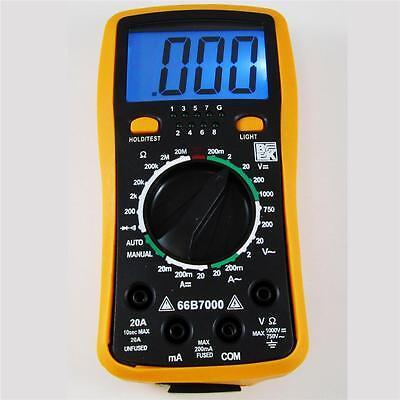 Bk 66b7000 Professional Digital Multimeter Network Cable Tester