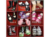 Selection of girl's shoes