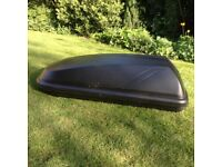 Halfords roof box for sale